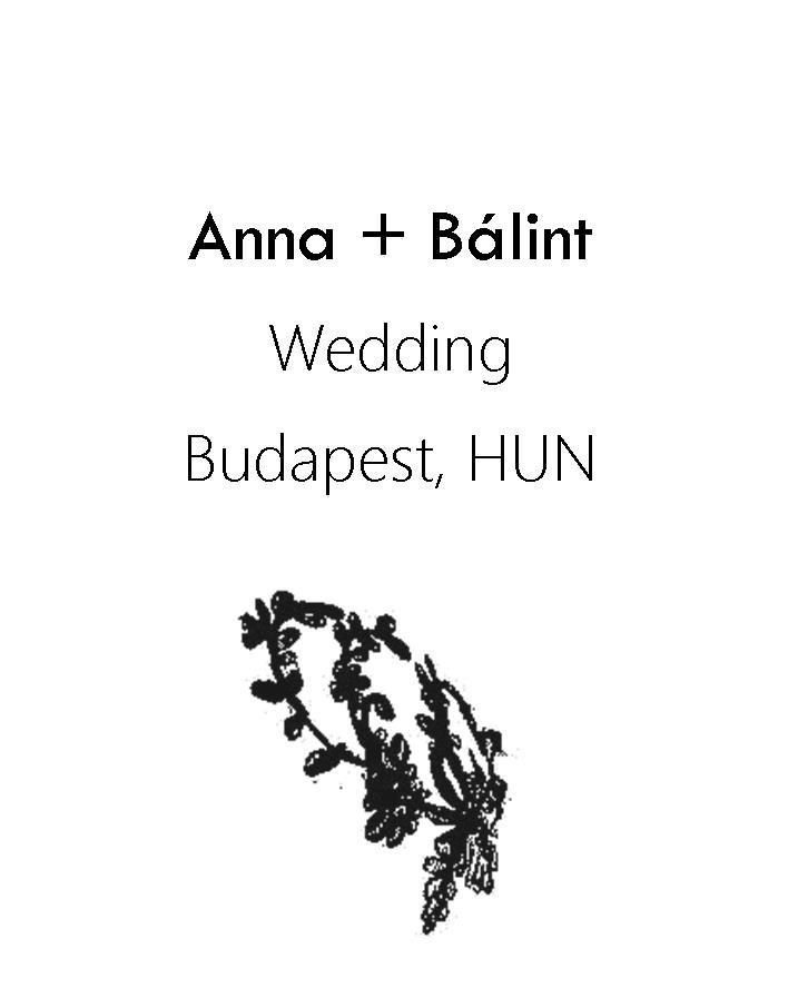 Anna és Bálint esküvő 2016