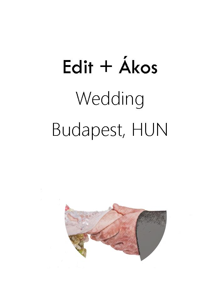 Edit + Ákos wedding, 2016
