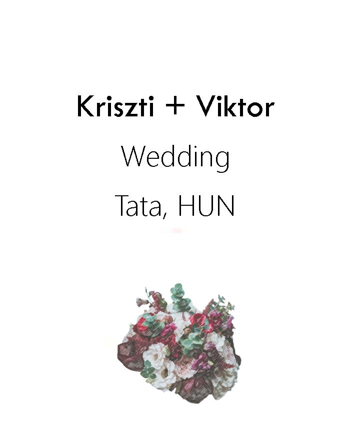 Kriszti + Viktor Wedding 2017